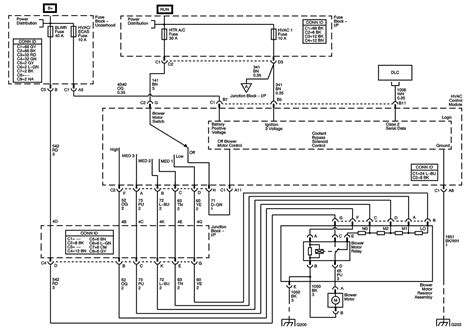 Gmc Wiring Harnes Diagram 2004 1500 by 2005 Gmc 1500 Heater Blower Won T Work Removed