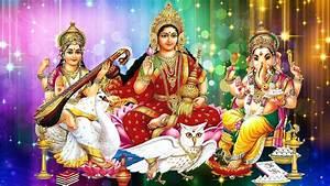 Laxmi Ganesh and Sarasvati wallpapers