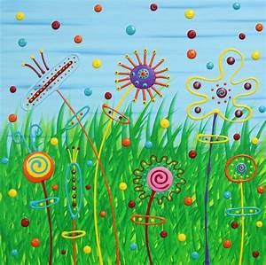 Abstrakte Bilder Leinwand : bild hoffnung kinder acrylmalerei malerei von michael pfannschmidt bei kunstnet ~ Sanjose-hotels-ca.com Haus und Dekorationen