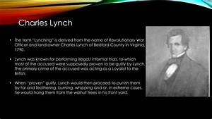 Death By Powerpoint Ppt Lynching Powerpoint Presentation Id 3762684