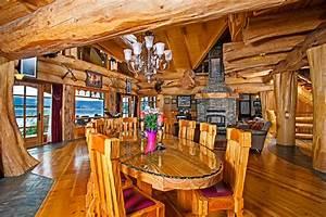 Timber King U0026 39 S Log Home Masterpiece - Luxuryhomes Com