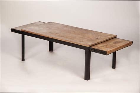 table bois et metal table metal et bois 28 images table basse industrielle m 233 tal et bois miliboo la table