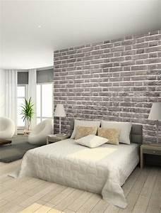 papier peint trompe loeil 33 idees pour embellir maison With trompe l oeil chambre