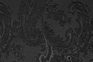 Stoffe Mit Muster : jacquard taft paisley schwarz ~ Frokenaadalensverden.com Haus und Dekorationen