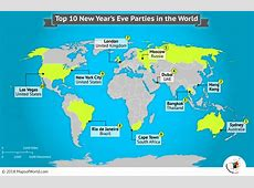 Best New Year's Eve Parties, Top 10 New Years Eve Celebrations
