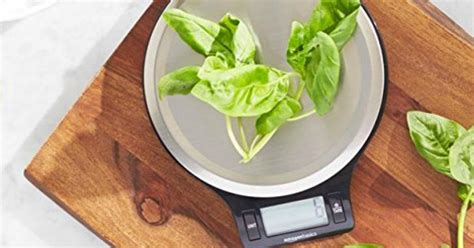 Amazonbasics Digital Kitchen Scale Just .98 + More