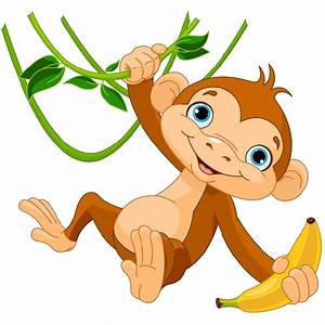 baby monkey clipart png - Clipground