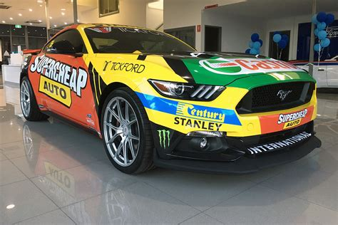 ford dealer teases mostert mustang supercars