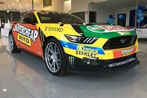 Ford dealer teases Mostert Mustang