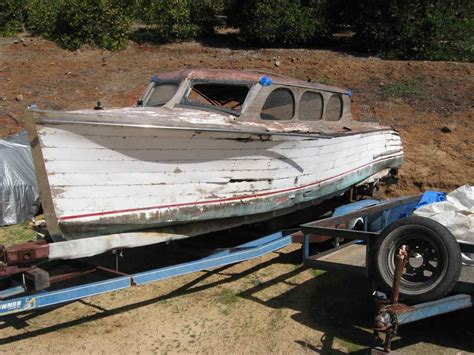 Cabin Cruiser Project Boats by The Dave Wright Boat Collection Is Selling Fast But A