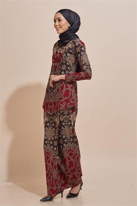 kara kebaya batik code kr49 habra fashion gallery