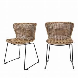 Chaise En Resine : 2x chaises en r sine tress wings de ~ Teatrodelosmanantiales.com Idées de Décoration