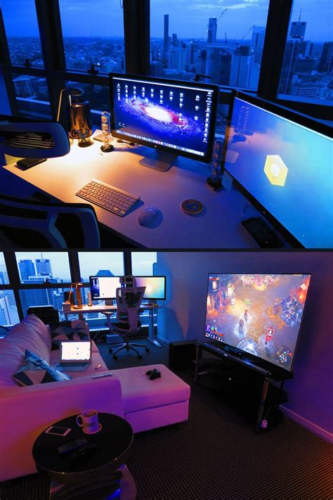 Best 25 Gaming Rooms Ideas On Pinterest Gamer Room