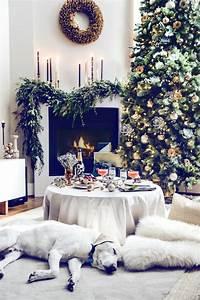 Weihnachtlich Dekorieren Wohnung : weihnachtliche tischdeko im skandinavischen stil ~ Bigdaddyawards.com Haus und Dekorationen