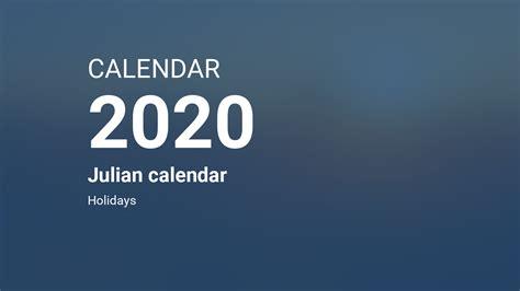 year  calendar julian calendar