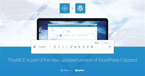 Tinymce + Wordpress