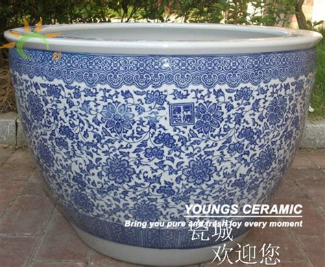 wholesale large chinease ceramic planter garden flower