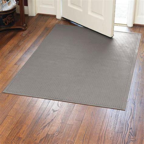 Thin Door Mat For Inside low profile water trap door mats at brookstone buy now