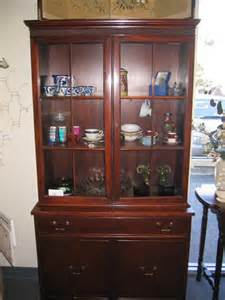 1940 s duncan phyfe china cabinet