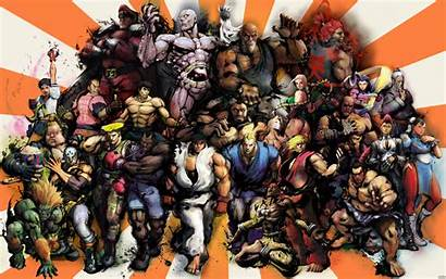 Fighter Street Super Iv Characters Pc Wallpapers
