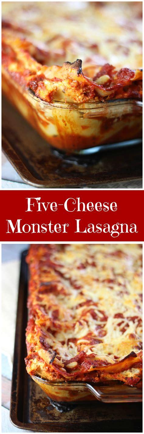 Five Cheese Lasagna