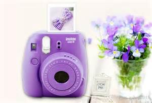 Instax Mini 8 Polaroid Purple Camera