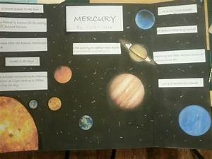 3rd grade solar system project (Mercury) | After School ...