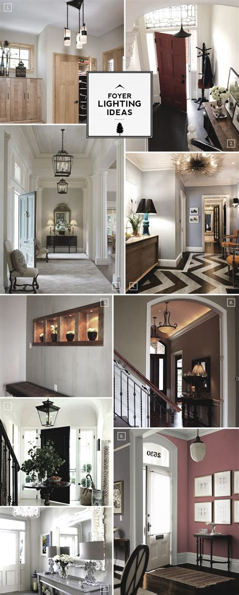 Small Entryway Lighting Ideas - entry foyer lighting ideas for large and small spaces