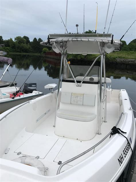 2004 used cobia center console fishing boat for sale 39 500 nh us moreboats com