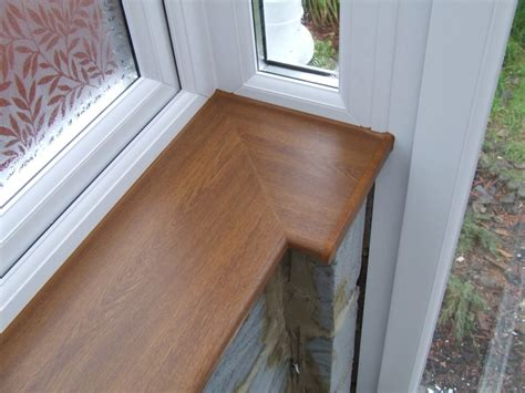 Conservatory Window Sill by Golden Oak Window Board Bradleystoke Window Repairs Ltd