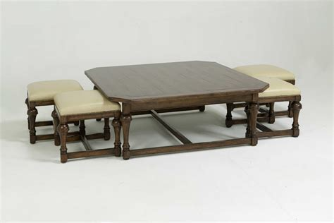 coffee table with chairs underneath coffee table with seats underneath roy home design
