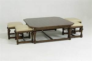 round coffee table with seats underneath roy home design With coffee table with seats underneath