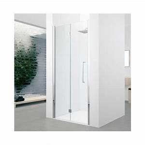 Paroi Douche Verre Sablé : paroi de douche pivotante pliante verre transparent 2 ~ Premium-room.com Idées de Décoration