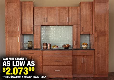 kitchen with walnut cabinets walnut shaker in stock kitchens 6559