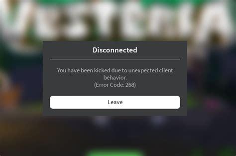 roblox kicks    games error code  engine