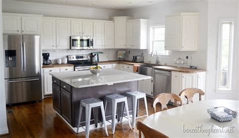 ideas for painting kitchen kitchen makeover reveal beneath my