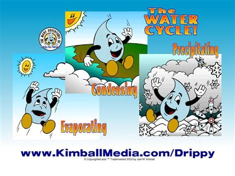 Drippy® & The Water Cycle