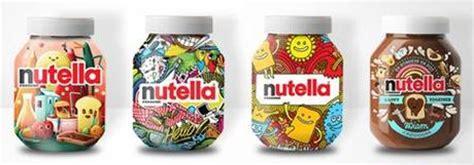 personnalisation pot de nutella nutella renouvelle packaging avec l aide de ses fans 192 voir