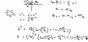 Ib Hl Exam Questions - Complex Numbers - Using Argand Diagrams And De Moivre U0026 39 S Theorem
