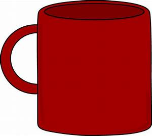 Red Mug Clip Art - Red Mug Image