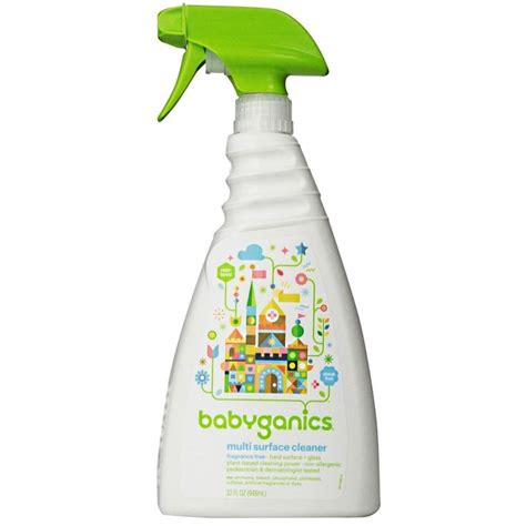 babyganics floor cleaner fragrance free babyganics 32 ounce multi surface cleaner fragrance free