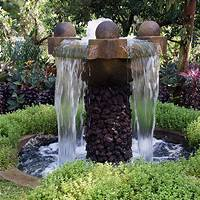 backyard water fountains Outdoor Fountain Pictures and Ideas