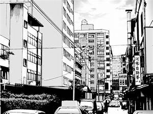 Asia City Manga Background Stock by WandaRocket on DeviantArt