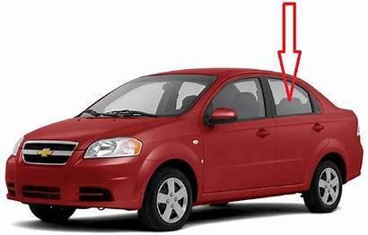 Aveo Door Rear Driver Sedan Chevrolet Side