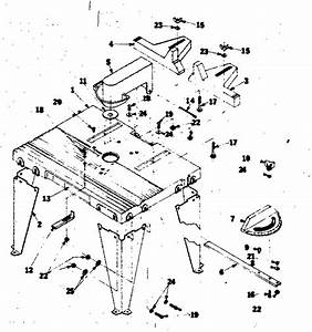 Craftsman Craftsman Router Table Parts