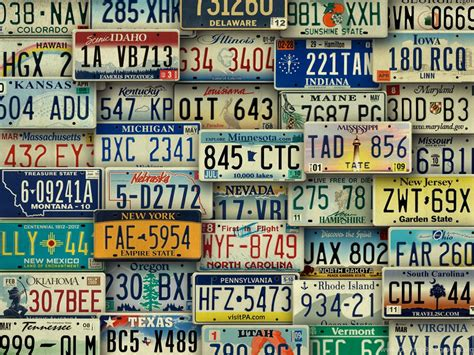 american license plate art backgrounds desktop background
