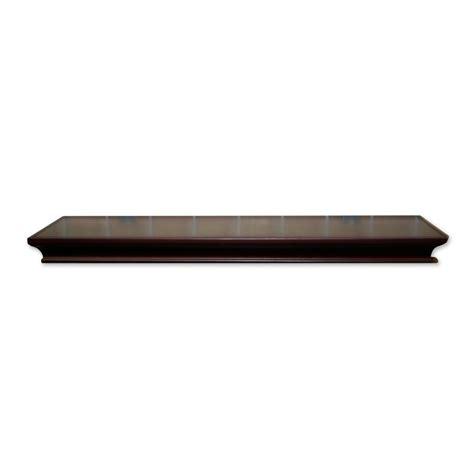 allen roth shelf allen roth 48 in wood wall mounted shelving lowe s canada