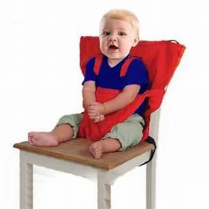 HIGHDAS Tissu De Voyage Portable Chaise Haute Sige D