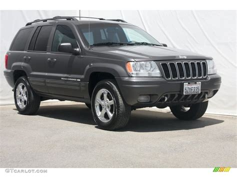 jeep grand cherokee gray 2001 graphite grey pearl jeep grand cherokee limited 4x4
