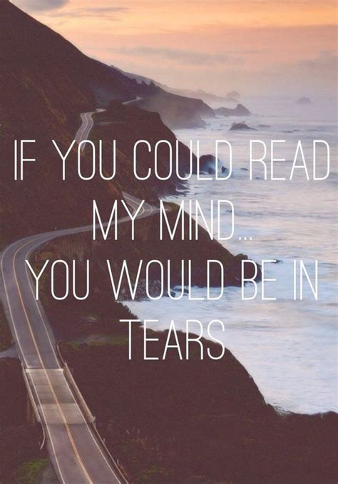read  mind youd   tears pictures